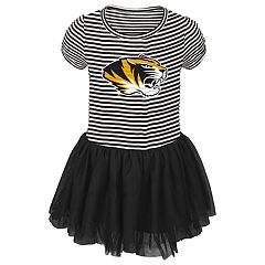 Baby Girl Missouri Tigers Sequin Tutu Dress