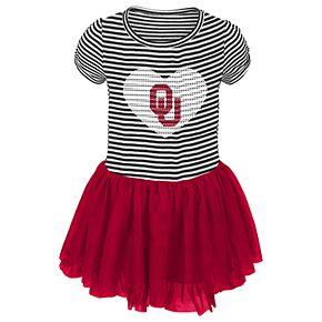 Toddler Girl Oklahoma Sooners Sequin Tutu Dress