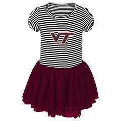 Toddler Girl Virginia Tech Hokies Sequin Tutu Dress