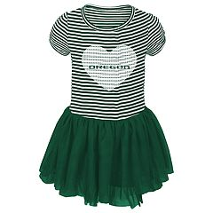 Toddler Girl Oregon Ducks Sequin Tutu Dress