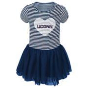 Toddler Girl UConn Huskies Sequin Tutu Dress