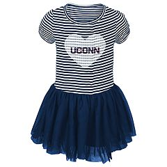 Toddler Girl UConn Huskies Sequin Tutu Dress