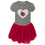 Toddler Girl Louisville Cardinals Sequin Tutu Dress