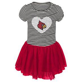 Toddler Girl Louisville Cardinals Sequin Tutu Dress
