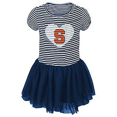 Toddler Girl Syracuse Orange Sequin Tutu Dress
