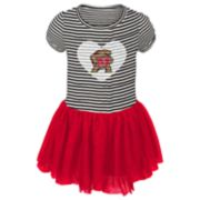 Baby Girl Maryland Terrapins Sequin Tutu Dress