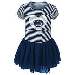 Toddler Girl Penn State Nittany Lions Sequin Tutu Dress