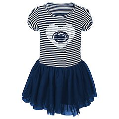 Toddler Girl Penn State Nittany Lions Sequin Tutu Dress
