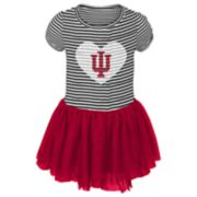 Baby Girl Indiana Hoosiers Sequin Tutu Dress