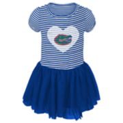Toddler Girl Florida Gators Sequin Tutu Dress