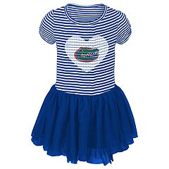Baby Girl Florida Gators Sequin Tutu Dress