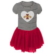 Baby Girl Iowa State Cyclones Sequin Tutu Dress