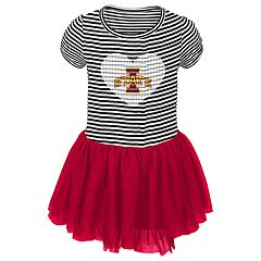 Toddler Girl Iowa State Cyclones Sequin Tutu Dress