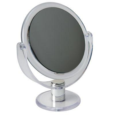 Bath Bliss Dual Sided Rubberized Vanity Mirror