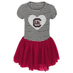 Toddler Girl South Carolina Gamecocks Sequin Tutu Dress