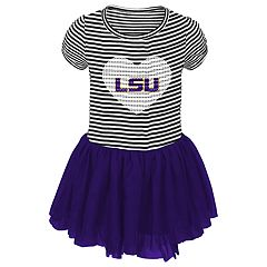 Baby Girl LSU Tigers Sequin Tutu Dress