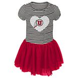 Toddler Girl Utah Utes Sequin Tutu Dress
