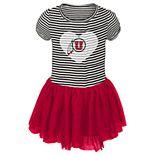 Toddler Girl Utah Utes Sequin Tutu Dress