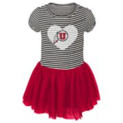 Baby Girl Utah Utes Sequin Tutu Dress