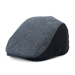 Men's Apt. 9® Herringbone 3-Panel Ivy Cap
