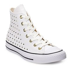 87d23eac698 Women s Converse Chuck Taylor All Star Leather High Top Shoes
