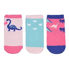 Baby / Toddler Girl Carter's 3-pack Dinosaur Socks