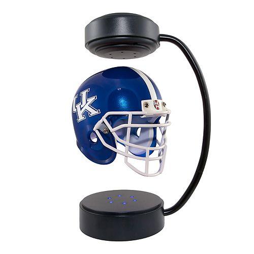 Floating College Football Helmets