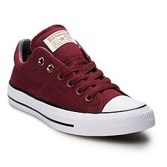 Women s Converse Chuck Taylor All Star Madison Sneakers. Burgundy White.  sale 863374d57