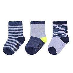 Baby / Toddler Boy Carter's 3-pack Camo Crew Socks