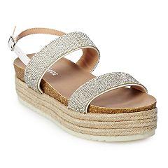 madden NYC Gemma Women's Platform Espadrille Sandals