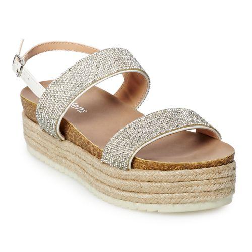 madden NYC Gemma Women's ... Platform Espadrille Sandals