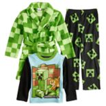 Boys 6-10 Minecraft 3-Piece Pajama Set