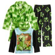 Boys 6-10 Minecraft 3-Piece Pajama Set