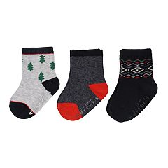 Baby / Toddler Boy Carter's 3-pack Holiday Crew Socks