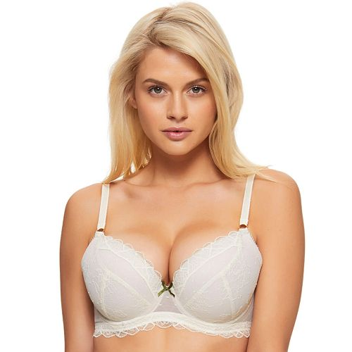 Women's Perfects Australia Bre Lace Push Up Balconette Bra 14UBR317