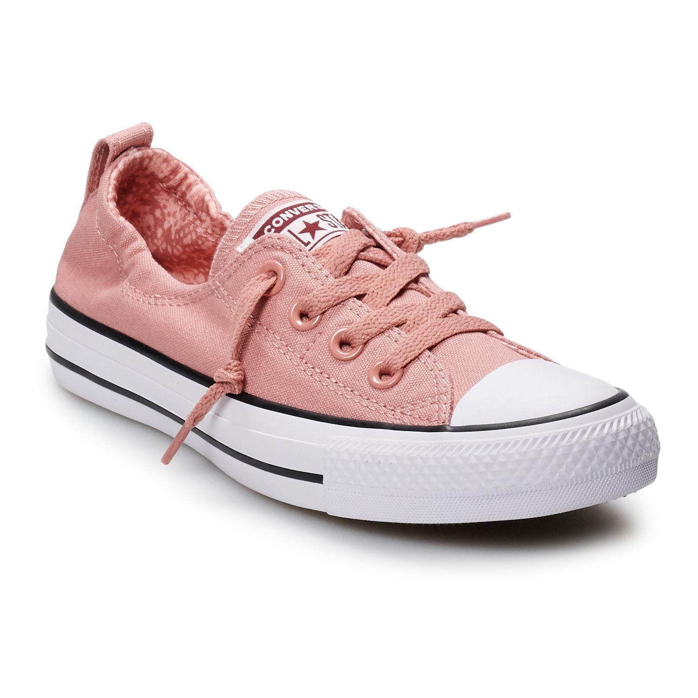 converse clothing, shoes \u0026 accessories kohl\u0027s  women\u0027s converse chuck taylor all star shoreline slip sneakers