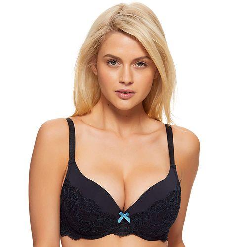 Women's Perfects Australia Natalie Lace Plunge Bra 14UBR517