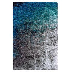 Couristan Gaia Ocean Abstract Shag Rug