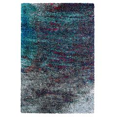 Couristan Gaia Twilight Abstract Shag Rug