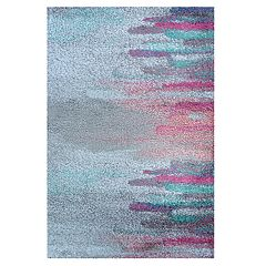 Couristan Gaia Daybreak Abstract Shag Rug