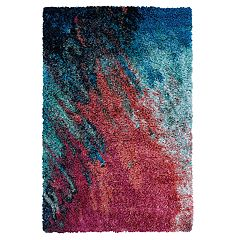 Couristan Gaia Sunset Abstract Shag Rug