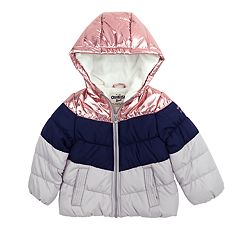 Baby Girl OshKosh B'gosh® Heavyweight Chevron Jacket