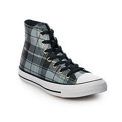 1381419f0a53 Women s Converse Chuck Taylor All Star Plaid High Top Shoes