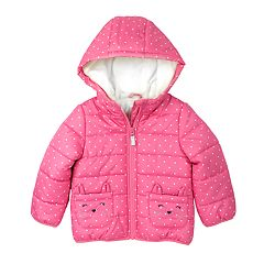 Baby Girl Carter's Heavyweight Critter Pocket Jacket