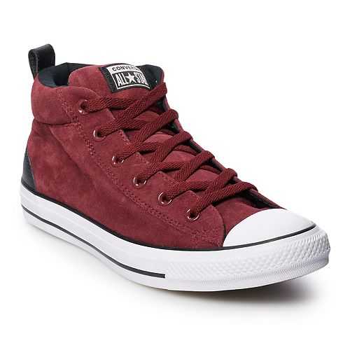 e70d3d4ed3d Men's Converse Chuck Taylor All Star Street Mid Suede Sneakers