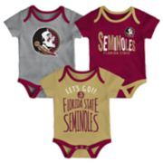 Baby Florida State Seminoles Little Tailgater Bodysuit Set