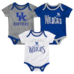 Baby Kentucky Wildcats Little Tailgater Bodysuit Set