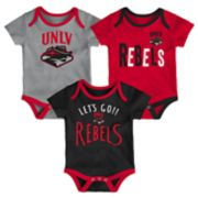 Baby UNLV Rebels Little Tailgater Bodysuit Set