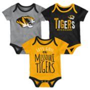Baby Missouri Tigers Little Tailgater Bodysuit Set