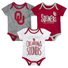 Baby Oklahoma Sooners Little Tailgater Bodysuit Set